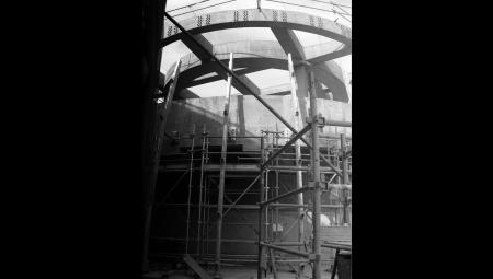 Construction of Hong Kong Ocean Park Grand Aquarium