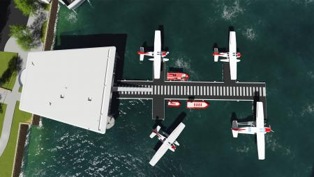 Sydney Seaplanes Crossley Architects Render